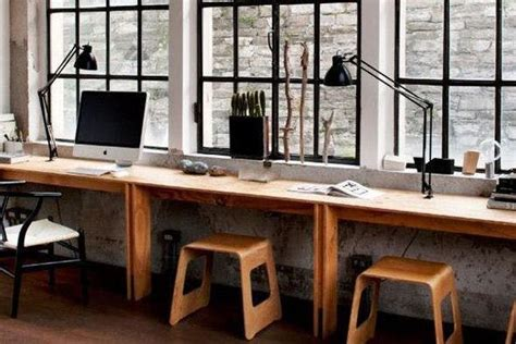 chic  creative home office designs