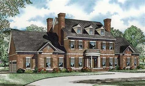 colonial luxury house plans colonial house plan 153 1058 3 bedrm 4996 sq ft home