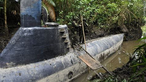 100-foot-long narco sub found in Colombia – This Just In