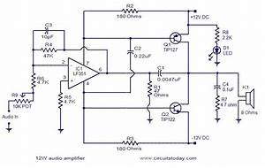 Simple 10w Audio Amplifier
