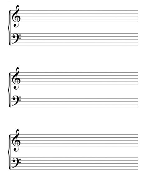 Here is a simple template for sheet music for. Sheet Music Template | shatterlion.info