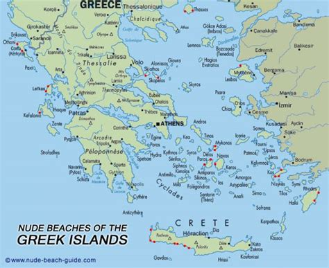 greek islands map holidaymapqcom