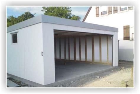 Anbau Holzständerbauweise Preise by Die New Isobox Fertiggarage Eine Isolierte Garage In