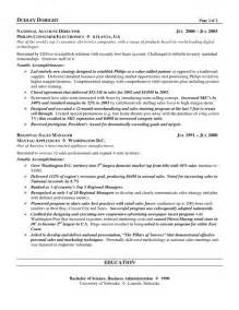 channel sales manager resume sle channel sales resume exle