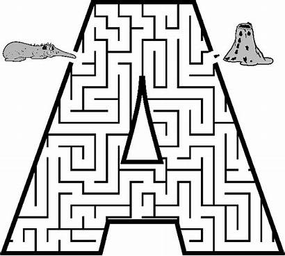 Mazes Printable Easy Coloring Pages