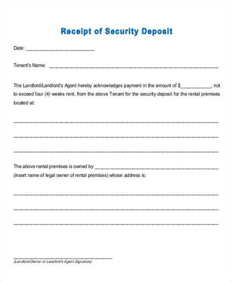 down payment receipt form 36 printable receipt forms sle templates