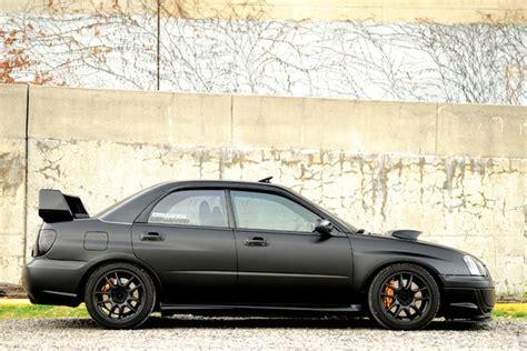subaru wrx all black matte black subaru pinterest