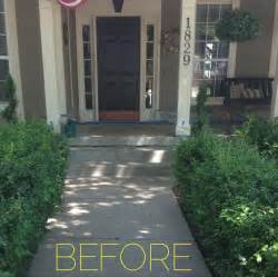 Front Porch Makeover Leaving Trail Front Porch Ideas Style For Ranch Home