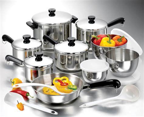 revere  pc tri ply cookware set  pc ekco tools  shipping today overstockcom