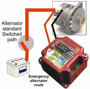 12v 24v Alternator Protection Device