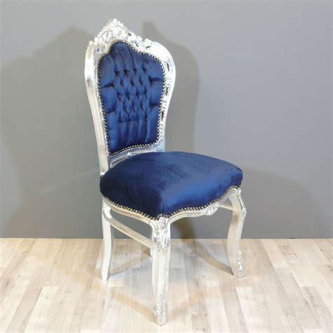 chaises baroques baroque blue chair chairs baroque