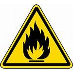 Flammable Hazard Symbol Warning Material Label Symbols
