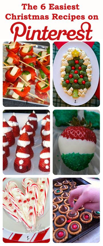 pinterest christmas recipes for snacks the 6 easiest recipes on magazines