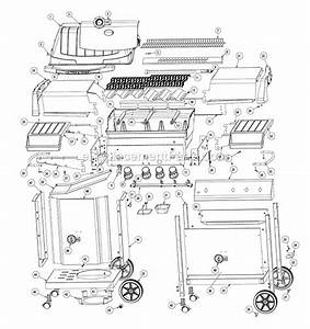 Napoleon U405 Parts List And Diagram   Ereplacementparts Com