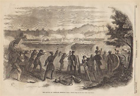 the siege of carthage civil war prints battle of carthage missouri