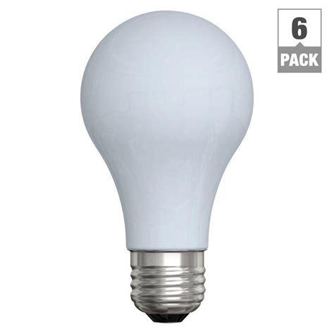 60 watt incandescent a19 reveal light bulb 6 pack ge