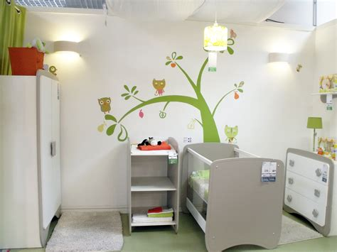idee deco chambre mixte décoration chambre bebe mixte