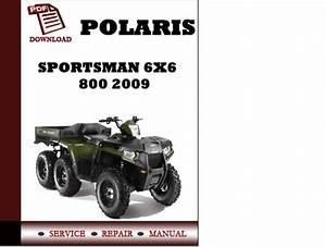 Polaris Sportsman 6x6 800 2009 Workshop Service Repair