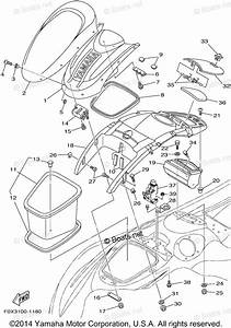 Yamaha Waverunner Parts 2001 Oem Parts Diagram For Engine Hatch 2
