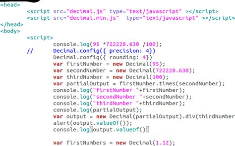 javascript math ceil decimal places how to deal with floating point number precision in