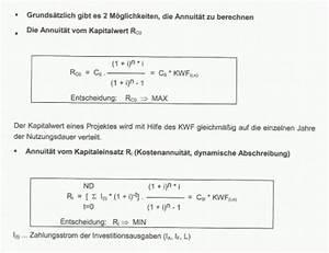 Differenzinvestition Berechnen : bwl vo tu graz karteikarten online lernen cobocards ~ Themetempest.com Abrechnung