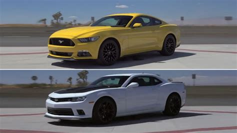 2015 Mustang Vs 2015 Camaro by American Rivalry 2015 Ford Mustang Gt Vs 2015 Chevrolet