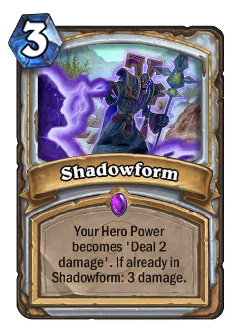 shadow priest deck hearthpwn shadowform hearthstone card