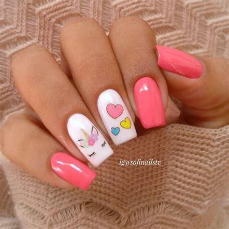 unicorn nails nifty diys