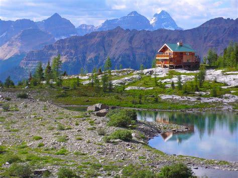 talus lodge high alpine canadian rocky mountains