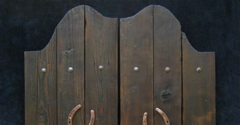 man cave industries  west saloon doors