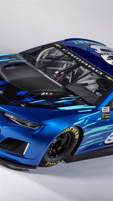 wallpaper chevrolet camaro zl nascar race car