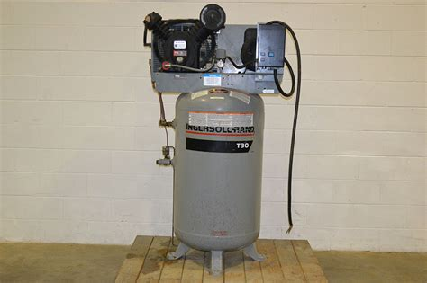 ingersoll rand 2475 t30 7 5hp two stage air compressor single phase the equipment hub