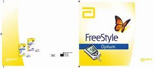Abbott Freestyle Optium Blood Glucose Meter Operation