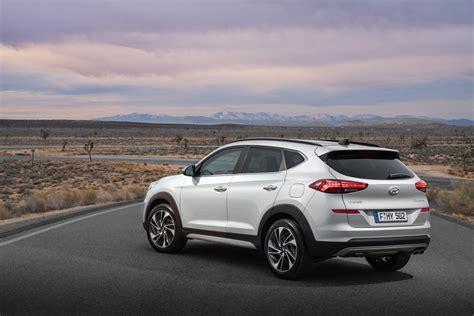 Hyundai Tucson 2019 Facelift by 2019 Hyundai Tucson Facelift Rear Three Quarters