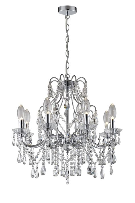 from a chandelier annalee 8 light chandelier chrome