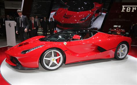 first ferrari ferrari laferrari first look new cars reviews