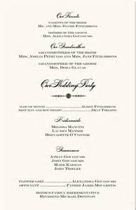 order of wedding reception wedding reception order of events sles wedding