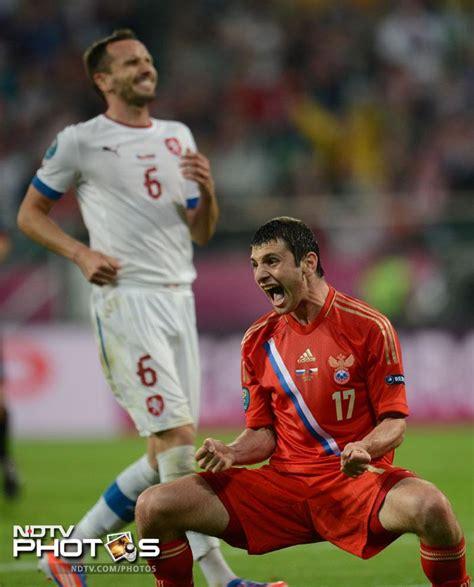 Euro 2012: Russia pummel a hapless Czech Republic, 4-1 ...