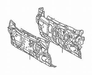 2013 Toyota Camry Engine Compartment Insulation  Insulator
