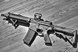 Wallpapers Rifles Assault rifle AR-15 BCM Closeup Army