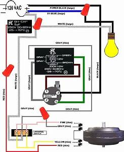 Hunter Original Ceiling Fan Wiring Diagram