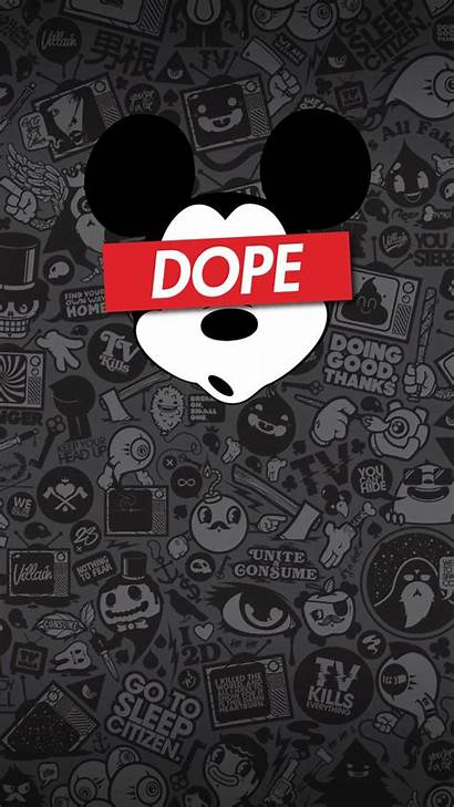 Wallpapers Iphone Lock Screen Mickey Supreme Wall