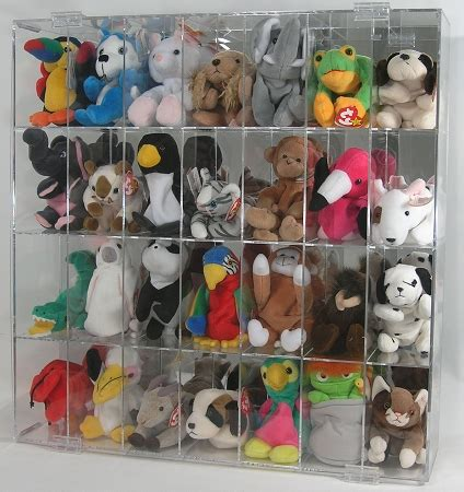 Beanie Babies Display Case 28