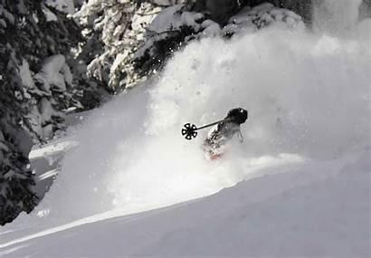 Skiing Powder Wallpaperaccess Altus Guides Deep Mountain