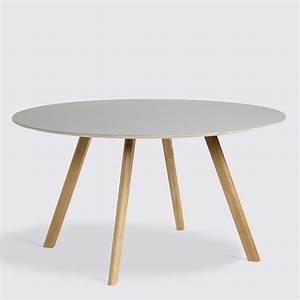 Table 140 Cm : copenhagen round table cph25 140 cm ~ Teatrodelosmanantiales.com Idées de Décoration