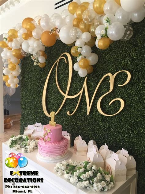 Organic balloons adds a more customised and free flowing balloon effect for your event. Image result for balloon color combinations | First birthday party decorations, Wedding balloons