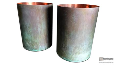 planters window flower boxes copper stainless steel