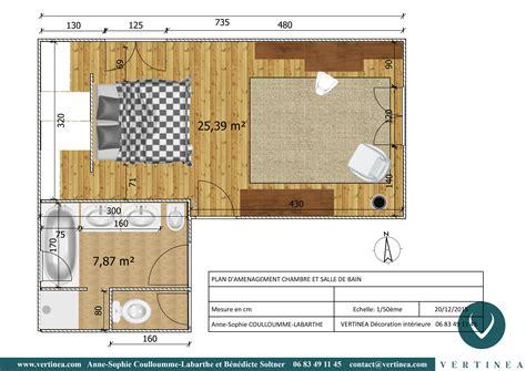 plan chambre parentale avec salle de bain et dressing plan chambre avec dressing 1 am233nagement et
