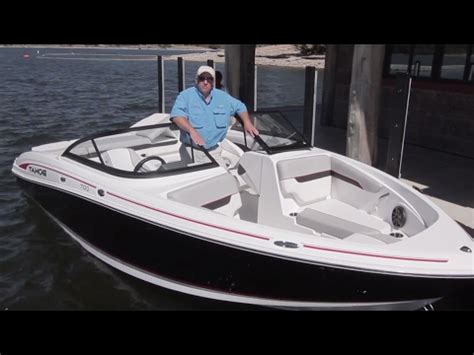 Tahoe Boats Ratings by Tahoe Boats 2018 700 Runabout Review By Boattest