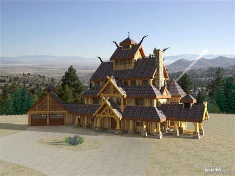 davidson log homes  viking